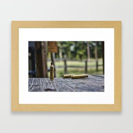 Empty Shell Framed Art Print