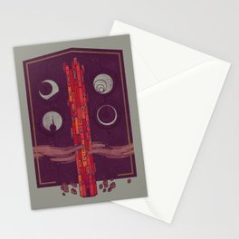 'Neath the Tower of Incomprehensible Sorcery Stationery Cards