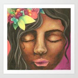 Fuity Lady Art Print
