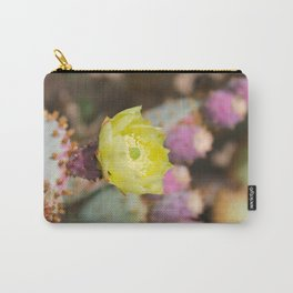 Opuntia Cactus Carry-All Pouch