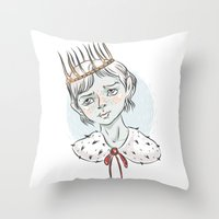 prince Throw Pillows featuring Prince by Галина Дук