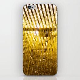 Yellow Hair iPhone Skin
