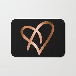 Heart of Copper Bath Mat