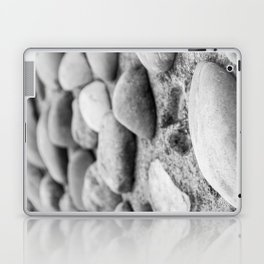 Black and White Stones Laptop & iPad Skin
