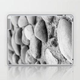 Black and White Stones Laptop & iPad Skin