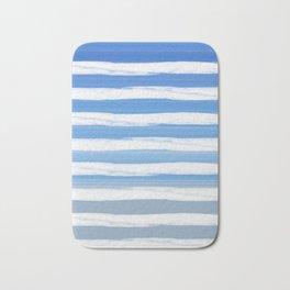 Sky Gross Stripes Bath Mat