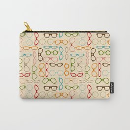 Retro glasses Carry-All Pouch