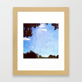 Summer Afternoon Framed Art Print