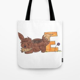 E is for Evee Tote Bag