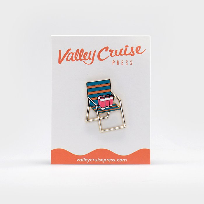 Enamel Pin: Chill | By Sage Pizza Editions