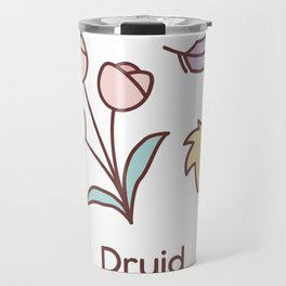 Cute Dungeons and Dragons Druid class Travel Mug