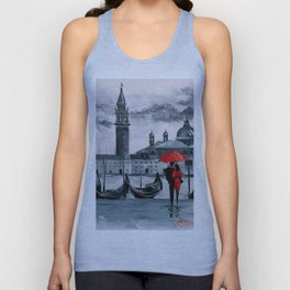 Romantic Venice Unisex Tank Top