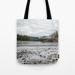 Fish Lake Emerging No. 2 Tote Bag