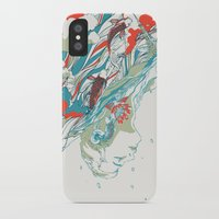 huebucket iPhone & iPod Cases featuring Colours In The Sky by Huebucket