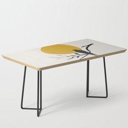 Bird and the Setting Sun Coffee Table