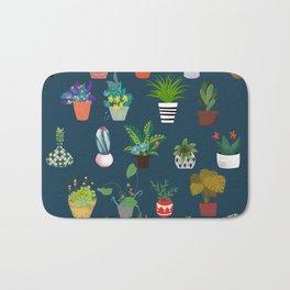 Flower beds Bath Mat