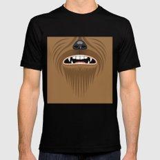 Chewbacca - Starwars Mens Fitted Tee Black MEDIUM