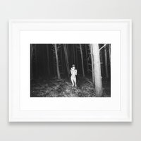 laura palmer Framed Art Prints featuring Laura Palmer I by Linas Vaitonis