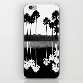 Palm Tree Reflection iPhone Skin