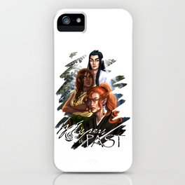 Whispers of the Past iPhone Case