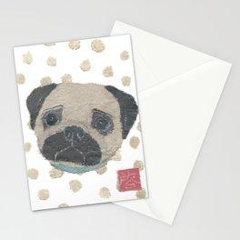 Pug, Dog Stationery Cards