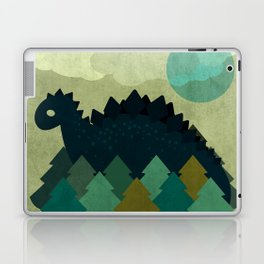 BLUE DINO Laptop & iPad Skin