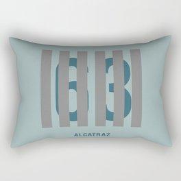 Alcatraz - Minimalist Rectangular Pillow