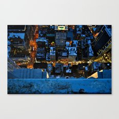 Don't Look Down - New York City Canvas Print