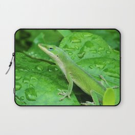 Mr. Lizard is Watching You Laptop Sleeve