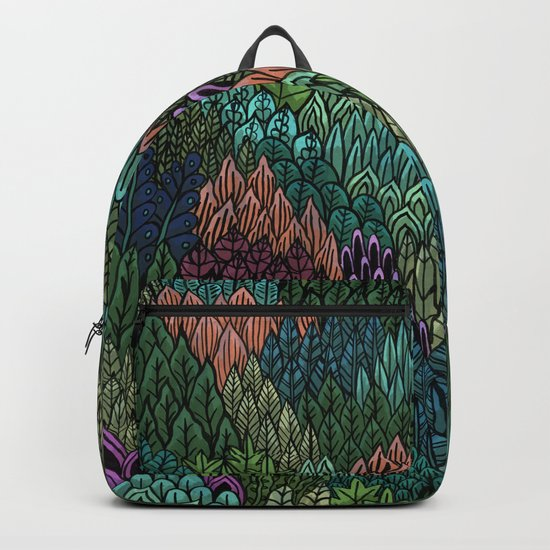 July Leaves Backpack
