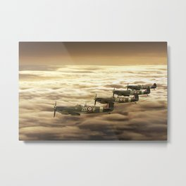 Spitfire Play Time Metal Print