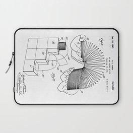 Slinky: Richard T. James Slinky Patent Laptop Sleeve