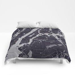 New York City Monochrome Comforters