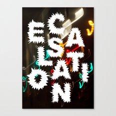 Escalation Canvas Print