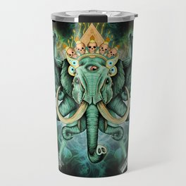 Elephant Ghost Travel Mug