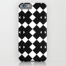 Branting Black & White Pattern iPhone 6s Slim Case