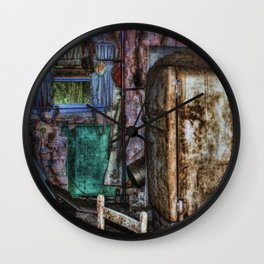 Haunted memories in the  kitchen Wall Clock