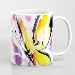 Butterfly Song No. 50 by Kathy Morton Stanion Coffee Mug