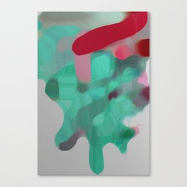 Obstructed Verdure Canvas Print