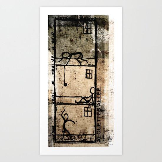 jojo Art Print