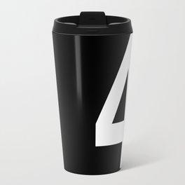 Lucky number: 4 Travel Mug