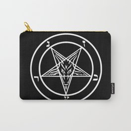 Ave Satanas (White) Carry-All Pouch