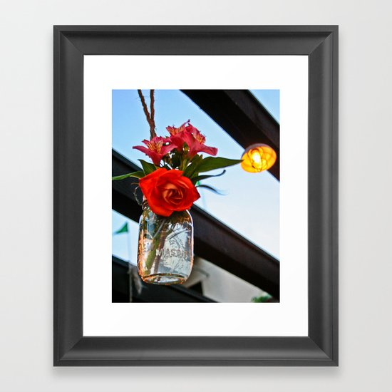 Outdoor Decor Framed Art Print