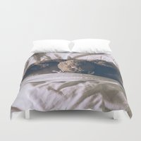 bunny Duvet Covers featuring Bunny by Helen Rushbrook