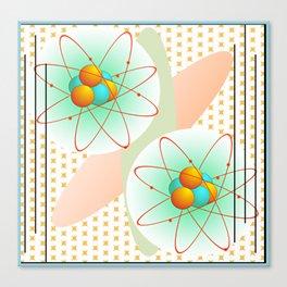 Mid-Century Modern Art Atomic 1.0 Canvas Print