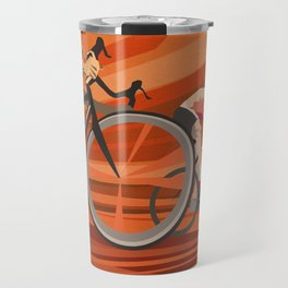 Milan San Remo cycling classic Travel Mug