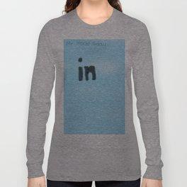 In blue Long Sleeve T-shirt