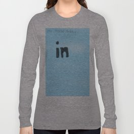 In blue Long Sleeve T-shirt