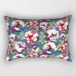 Paintsplat floral Rectangular Pillow