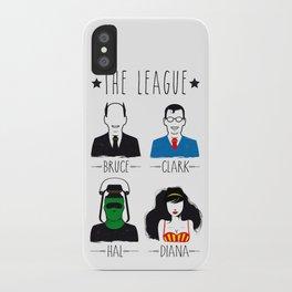 THE LEAGUE iPhone Case